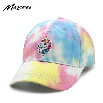 Trendy Winter Jacket Dad Hat Lovely Baseball Cap Summer For Men Women Snapback Unicorn Embroidery Caps Unisex Exclusive Release Hip Hop Hat 1 Piece AT_92_12