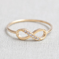 US 8 Size-delicate Infinity Ring In.. on Luulla