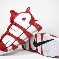 "Nike Air More Uptempo x Supreme ""Suptempo"" Red"