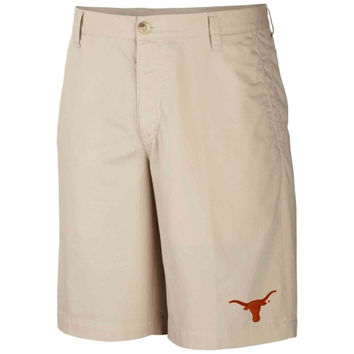 Men's Texas Longhorns Columbia Khaki Collegiate Bonehead Short
