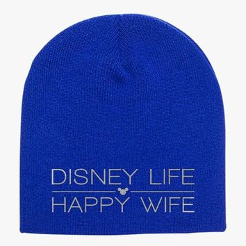 Disney Life Happy Wife Knit Beanie