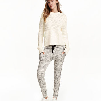 Melange Joggers - from H&M