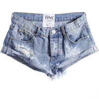 One Teaspoon || Bandits shorts in hustler
