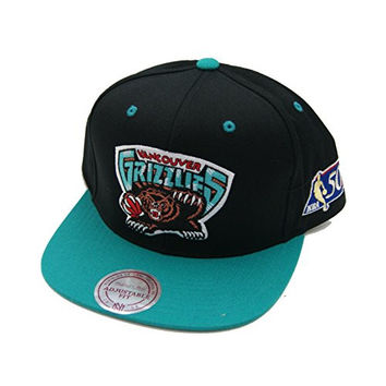 Mitchell Ness Vancouver Grizzlies NBA 50th Anniversary Sidepatch Snapback Hat