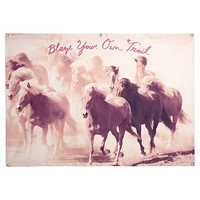 Junk Gypsy Blaze Your Own Trail Wall Mural