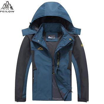 New Spring Autumn Outwear thin Jacket Men Waterproof Windbreaker Man Coat Hombre