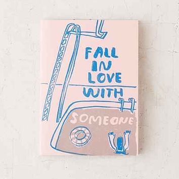 Fall In Love With Someone Activity Book By Carissa Potter - Urban Outfitters