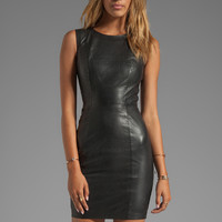 Muubaa Troy Pencil Dress in Black from REVOLVEclothing.com