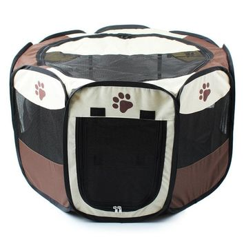 large dogs cats cage kennel canvas nest