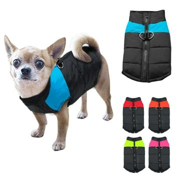 Waterproof Pet Dog Puppy Vest Jacket Clothing Warm Winter Dogs Clothes Coat For Small Medium Large Dogs