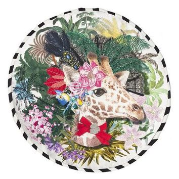 Christian Lacroix Dona Jirafa Throw Pillow by Designers Guild