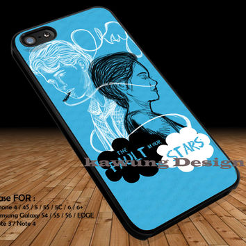 Okay Okay The Fault in Our Stars iPhone 6s 6 6s+ 5c 5s Cases Samsung Galaxy s5 s6 Edge+ NOTE 5 4 3 #movie #TheFaultInOurStars DOP295