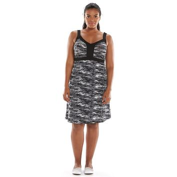 Tek Gear Shirred Fitness Dress - Women's Plus Size, Size: