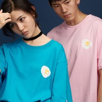 Fried Egg Tee | Pink/Blue
