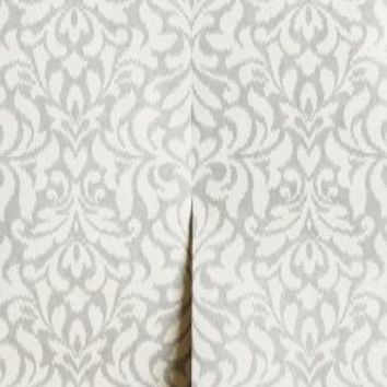 Mirrored Foliage Wallpaper by Anthropologie in Silver Size: One Size Wall Decor