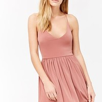 Crisscross-Cami Skater Dress
