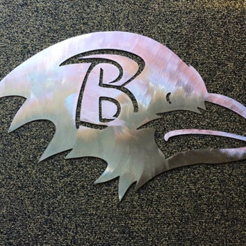 Baltimore Ravens metal sign