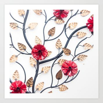 Love tree Art Print by RaquelCaceresMelo