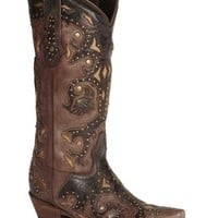 Lucchese Handcrafted 1883 Studded Fiona Cowgirl Boots - Snip Toe - Sheplers