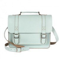 Bohemia Boho Briefcase No. 5, Ice Blue