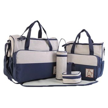 5pcs/lot Baby Diaper Bag