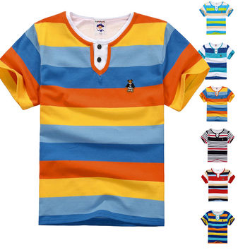 High Quality Breathable Children T Shirts Kids Boys Summer T-Shirt Designs Teen Clothing For Boys Baby Clothing Girls T-Shirts