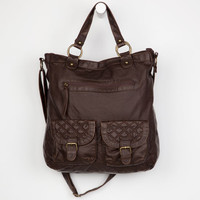 T-Shirt & Jeans Quilted Hobo Bag Chocolate One Size For Women 22105740201