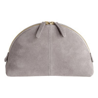 Suede Makeup Bag - from H&M