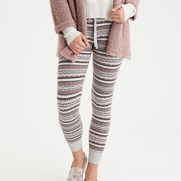AEO Sweater Jogger, Light Heather