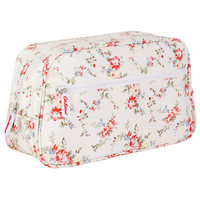 Buy Cath Kidston Bleach Flowers Washbag, White online at JohnLewis.com