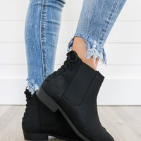 Chance Encounter Booties - Black