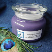 Witching Hour Scented Natural Soy Candle in Apothecary Jar