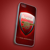 Arsenal FC Logo - RoverBlack - iPhone 4/4s, 5, 5s, 5c, Samsung S2, S3, S4, iPod 4, 5