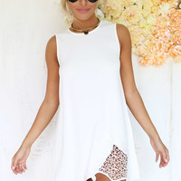 Lace Hem Dress | SABO SKIRT