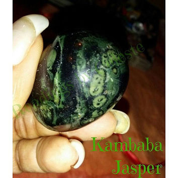 Kambaba Jasper Yoni Egg Medium (45*33) non drilled.
