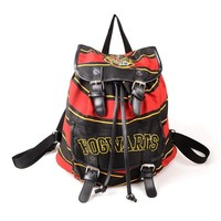 Free shipping OFFICIAL  Harry Potter Hogwarts Knapsack Backpack Official With Tag Harry Potter bag for birthday gift