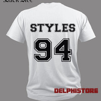 harry styles shirt t shirt tshirt tee shirt black and white unisex t shirt (DL-6)