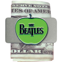 Beatles Men's Drop-T Apple Money Clip Silver
