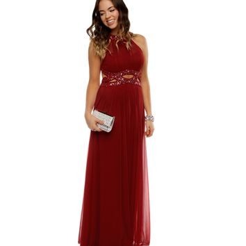 Promo-kaley- Red Prom Dress