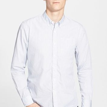 Men's Todd Snyder Extra Trim Fit Stripe Sport Shirt,