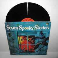 Rare Vinyl Record Scary Spooky Stories LP 1973 by JustCoolRecords