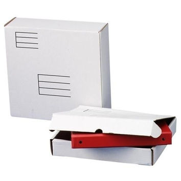 "Quality Park Products Ring Binder Mailing Box, For 1"" Binders, 10-1/2""x12""x2-1/8"""