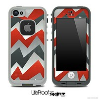 Abstract ZigZag Chevron Pattern for the iPhone 5 or 4/4s LifeProof Case