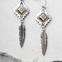 Symbolism Silver Earrings