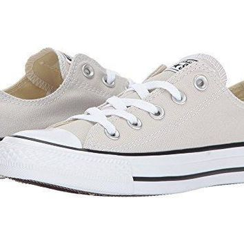 1a8761de3a6d Converse Chuck Taylor All Star OX Men s Low Top Shoes Silver Gol