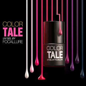 Focallure Color Tale 1PC Nail Gel Polish UV&LED Shining Colorful 12ML Long lasting soak off Varnish cheap Manicure