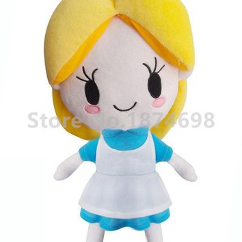 New Rare Alice in Wonderland Alice Plush Doll Toy 40cm Cute Stuffed Soft Baby Kids Toys Dolls for Children Girls Gifts