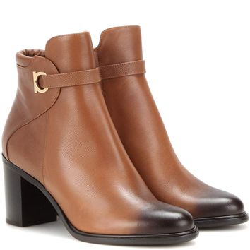 Florian leather ankle boots