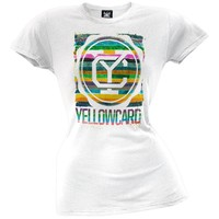 Yellowcard - Brush Juniors T-Shirt
