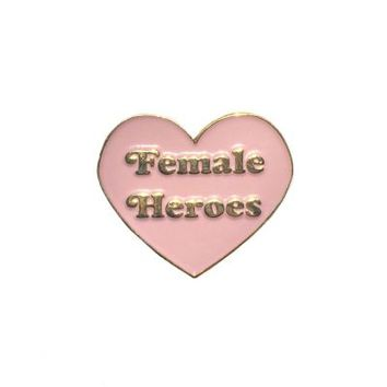 HOME :: Pins & Patches :: LAPEL PINS :: Female Heroes Feminist Pin